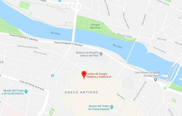 Mapa clínica dr. Rodrigo